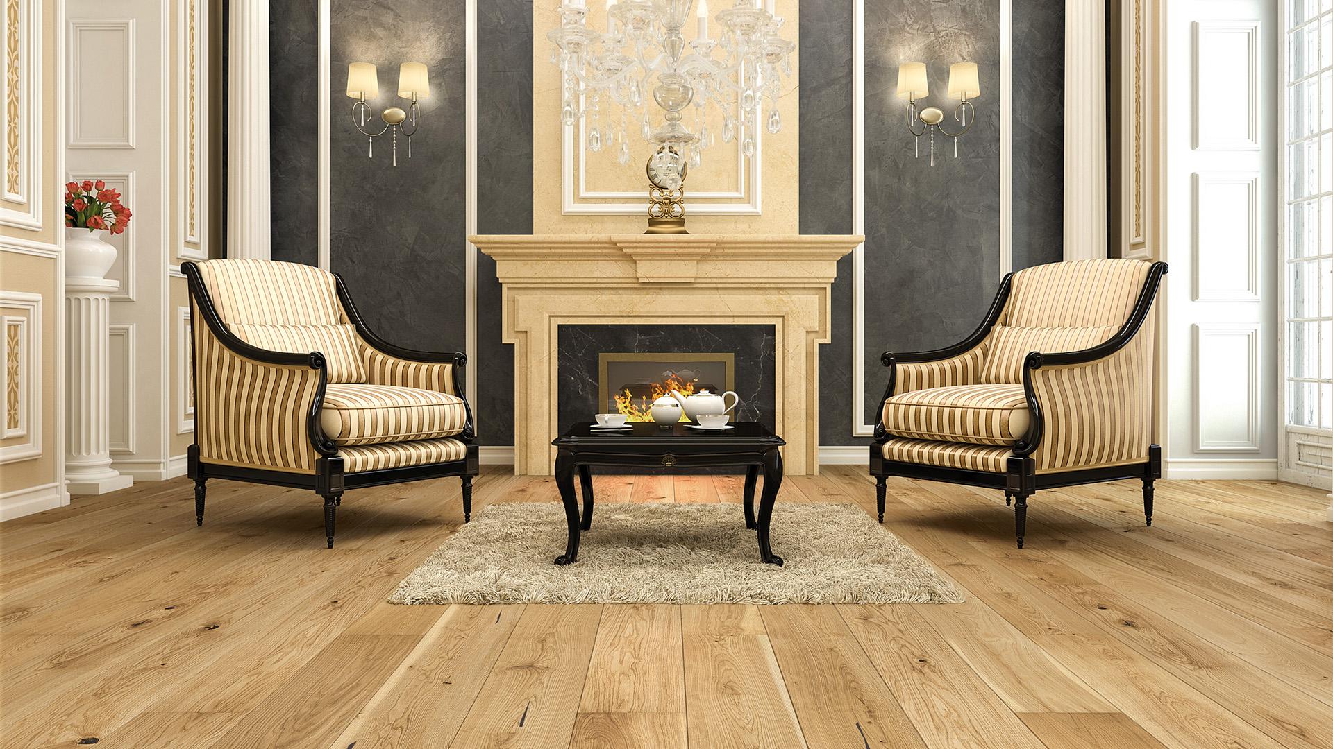 Dřevěná podlaha nemusí stát hříšné peníze