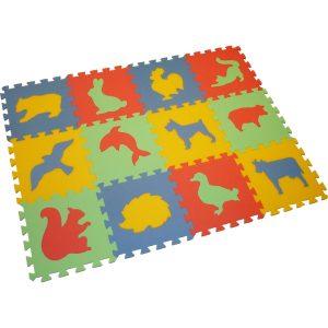 Praktické a zábavné pěnové puzzle